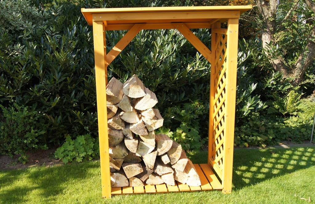 Kaminholzregal Massiv Holz Unterstand Massivholzmöbel Bei