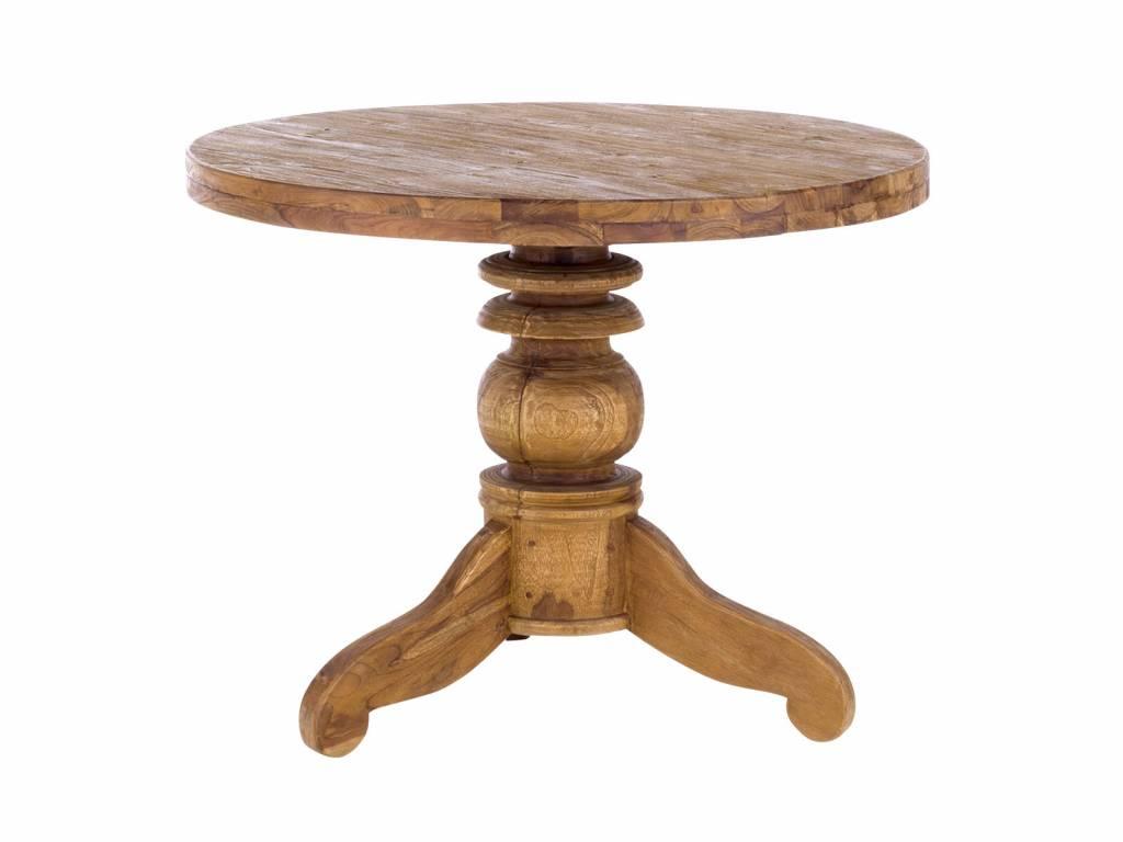 Massiv Teak Tisch Rund 100 Cm Oder 150 Cm Massivholzmöbel Bei