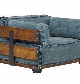 Jeans Sessel im Industrie Design