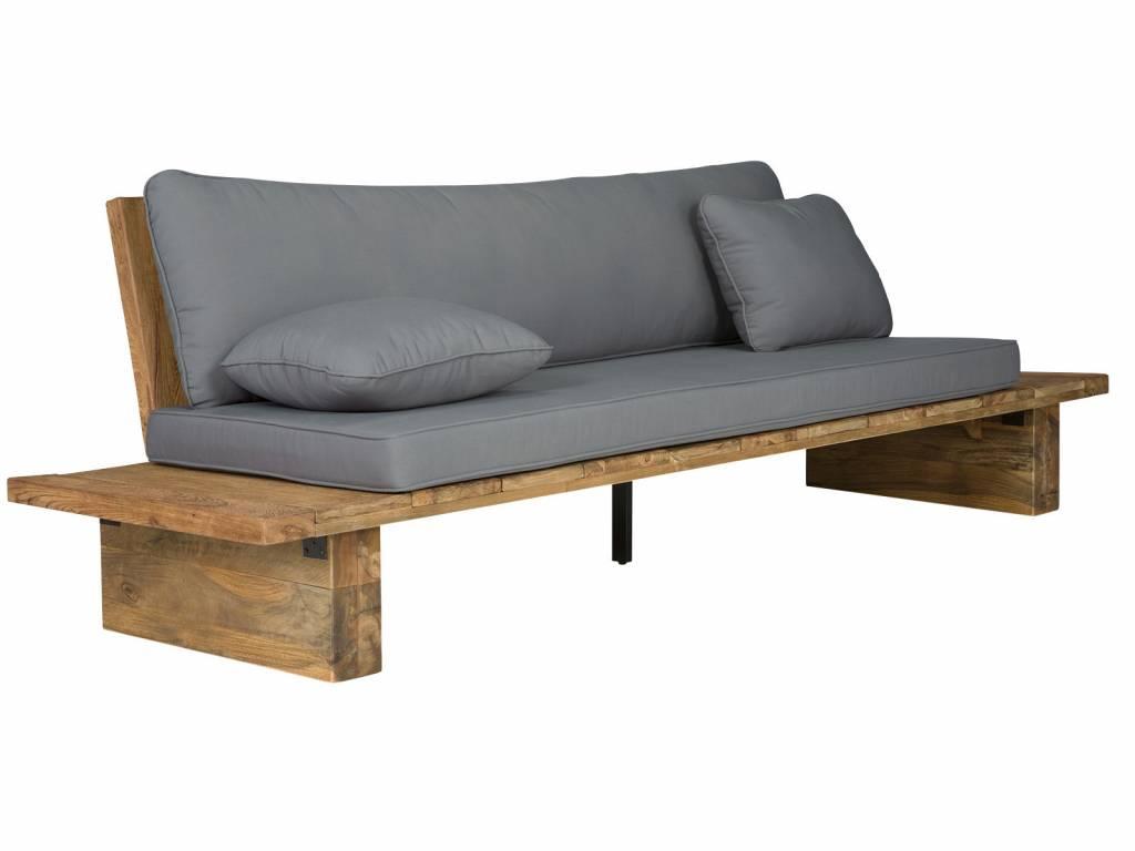 Teak Garten Sofa Lounge Massivholzmöbel Bei Moebelshop68de