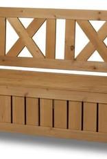 Truhen Bank- Garten Bank Holz