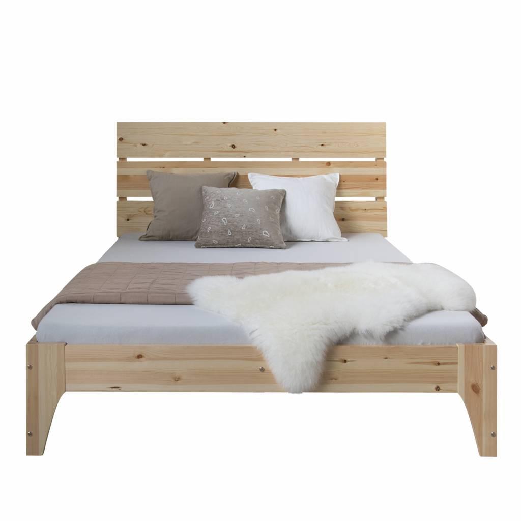 doppel bett holz 140 massivholzm bel bei. Black Bedroom Furniture Sets. Home Design Ideas