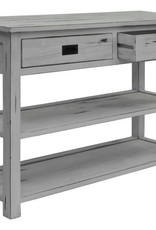 Konsolen Tisch  Teak  withe wash Anrichte massiv Holz