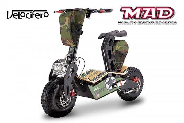 Velocifero Elektro Roller E Scooter 810w mit Straßenzulassung