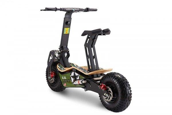 Velocifero Elektro Roller E Scooter 1600w mit Straßenzulassung