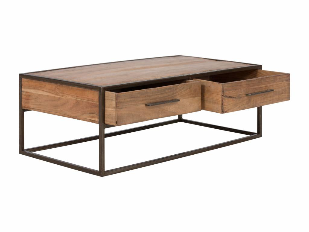 massiv Holz Couch Tisch Altholz  Industrie Design
