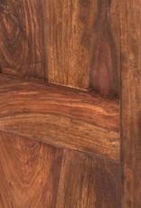 massiv Holz Vitrine Schiebetüren