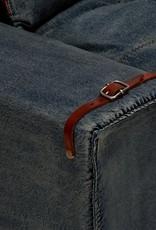 Jeans Wohnlandschaft in L Form