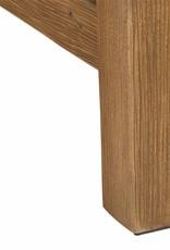 Holz Garten  Bank mit Polster wasserabweisend