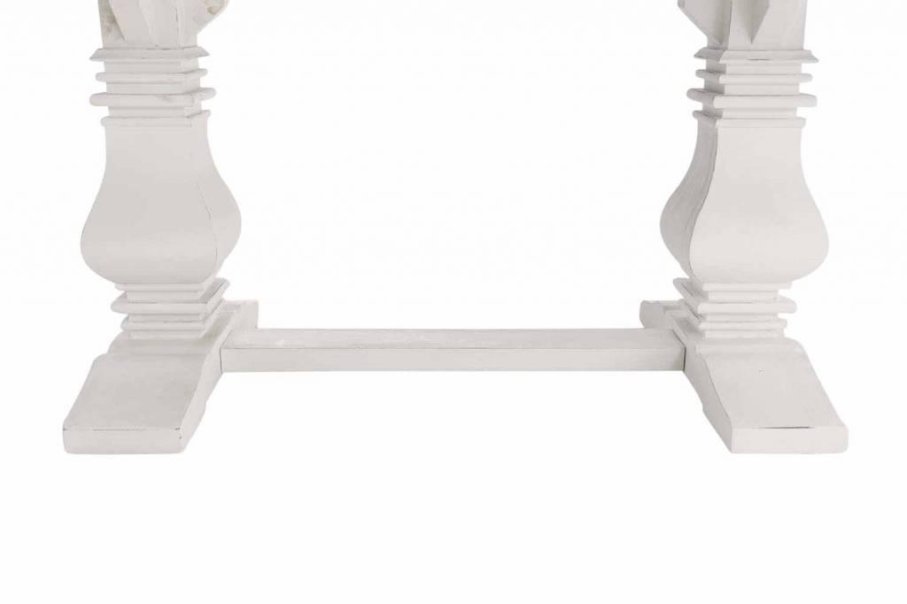 massiver Ess Holz Tisch im Landhaus Design