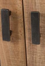 Vitrine massiv Holz Anrichte