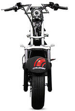 2-Sitzer Elektro Roller E Scooter Straßenzulassung 1500w