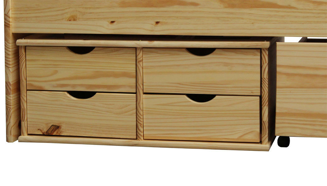 Funktionsbett Stauraum Bett 200 x 90
