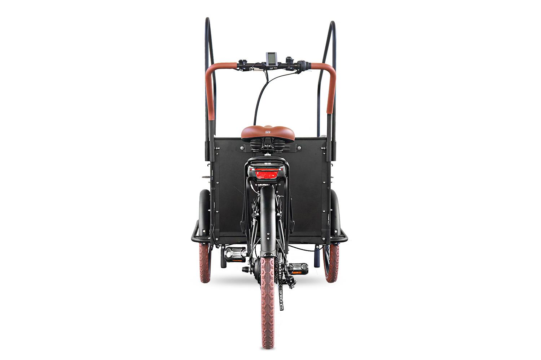 Elektro Lastenrad  E Lastenfahrrad Dreirad mit Regenschutz