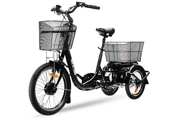 E Bike Lastenrad Pedelec Trike Dreirad Transportfahrrad mit Neigetechnik