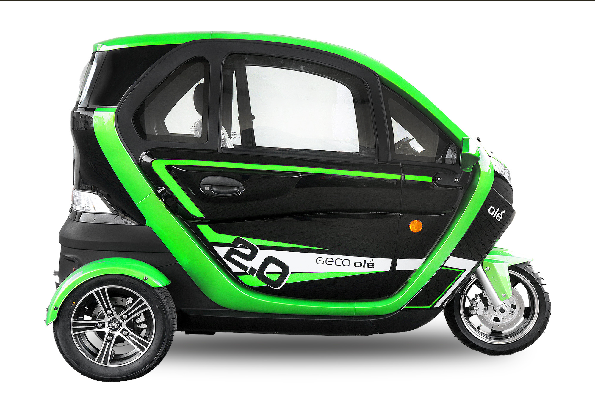 EEC Elektroauto Elektro Kabinenroller Geco Ole 2000