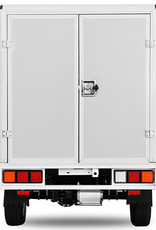 Geco Elektroauto Geco Truck  Pickup Kofferaufbau