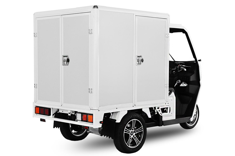 Elektroauto Geco Truck  Pickup Kofferaufbau