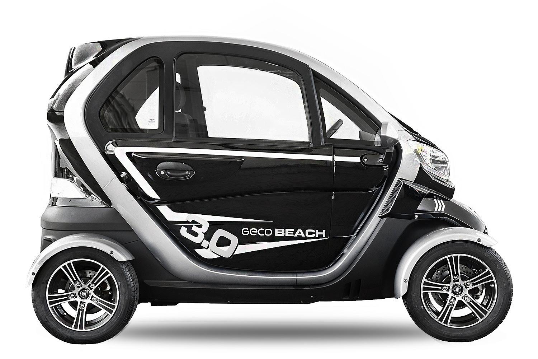 Geco Kabinenroller Elektroauto Geco Beach 3000 V3 3kW inkl. Batterien Straßenzulassung