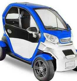 EEC Elektroauto Kabinenroller Geco Beach 3000