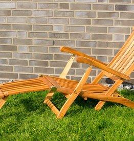 Gartenliege  abnehmbares Fußteil Deckchair