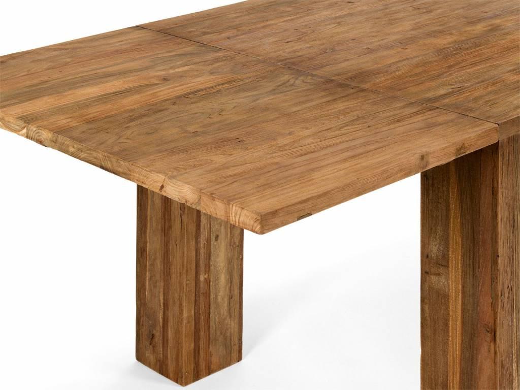 Ess Tisch massiv Holz Teak - Copy
