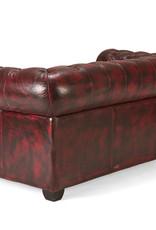 Chesterfield Sofa echt Leder  2 Sitzer