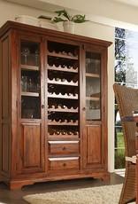 Wein Schrank massiv Buffet
