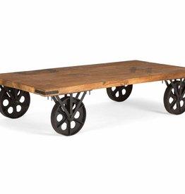 massiv Holz Tisch Industrie Design
