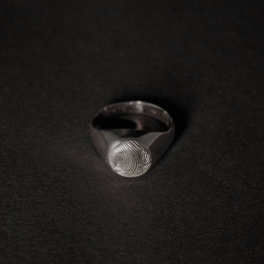 (As)ring ROND, zilver-3