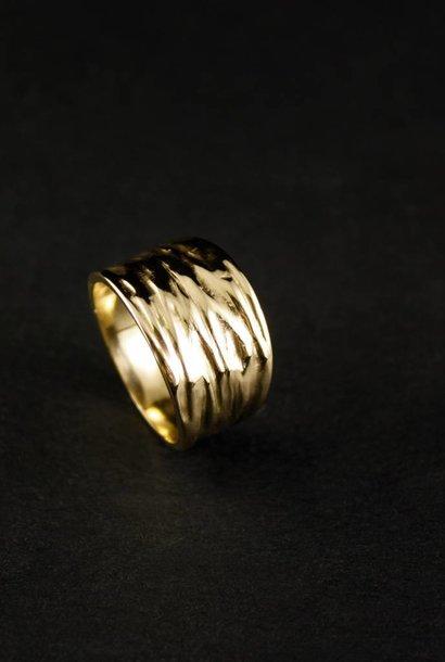 Ring KREUKEL, goud