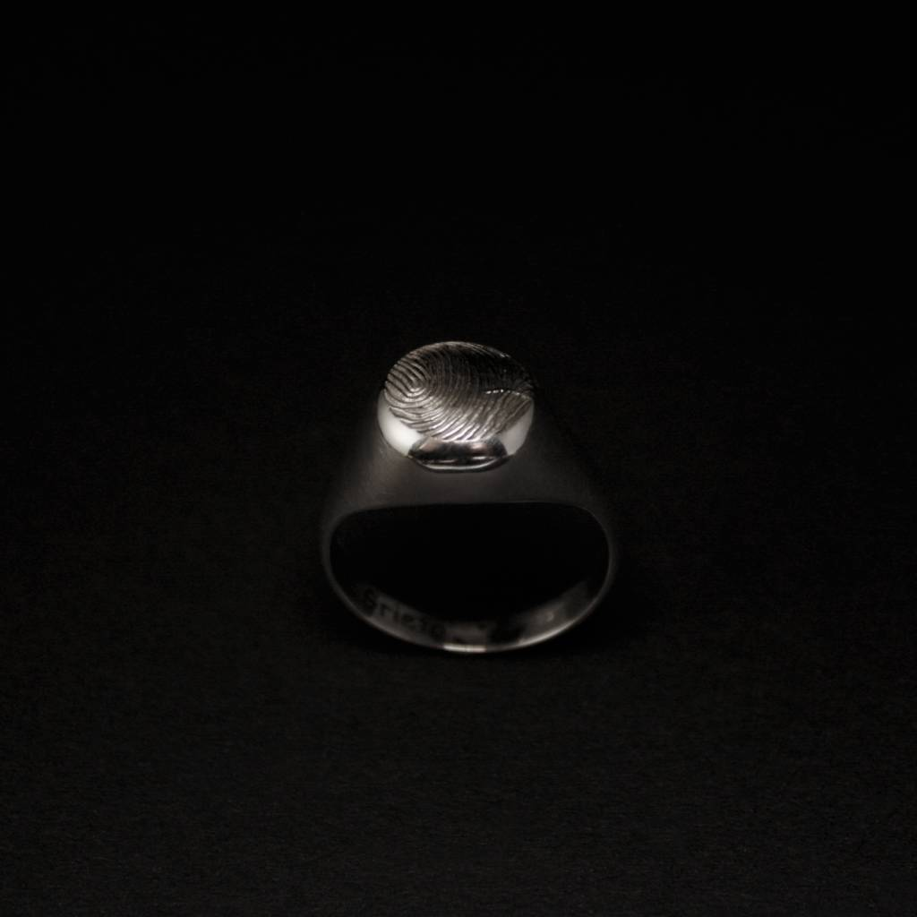(As)ring ROND, zilver-2
