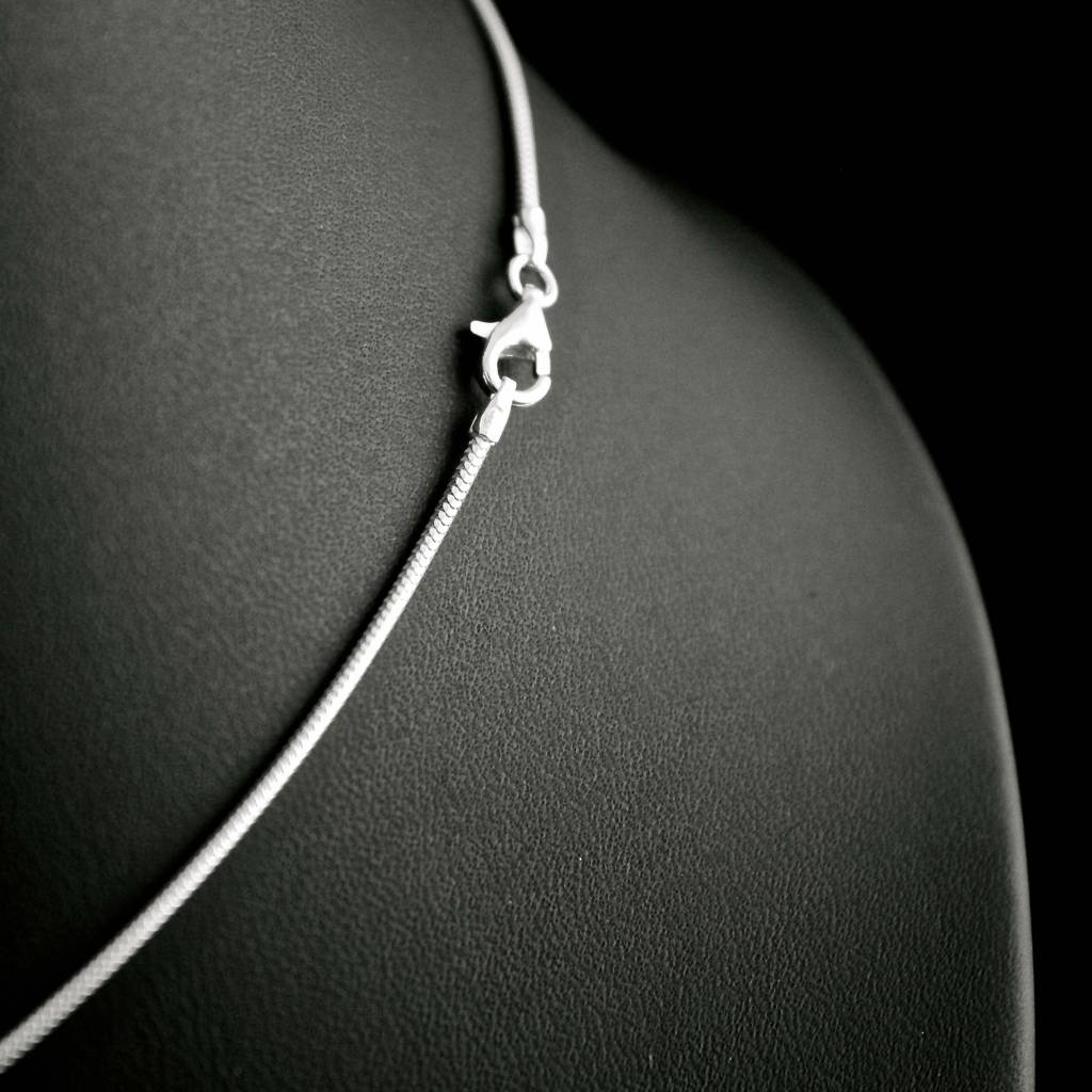 Collier SLANG, witgoud-1