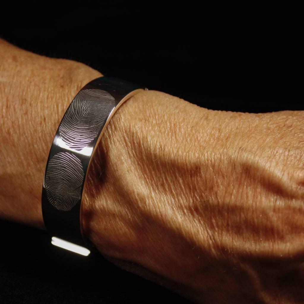 Armband VOOR ALTIJD, zilver-2