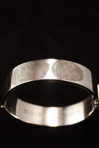 Armband VOOR ALTIJD, zilver