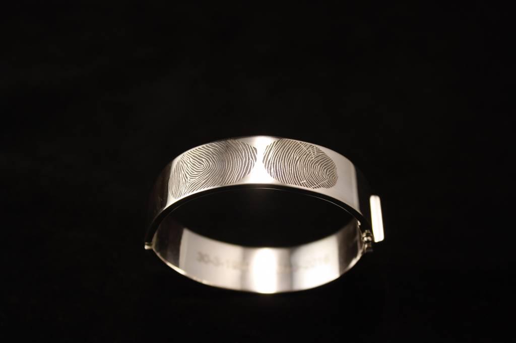 Armband VOOR ALTIJD, zilver-1