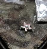 MARGRIET JEWELS Zilveren ashanger STERRETJE -  dicht