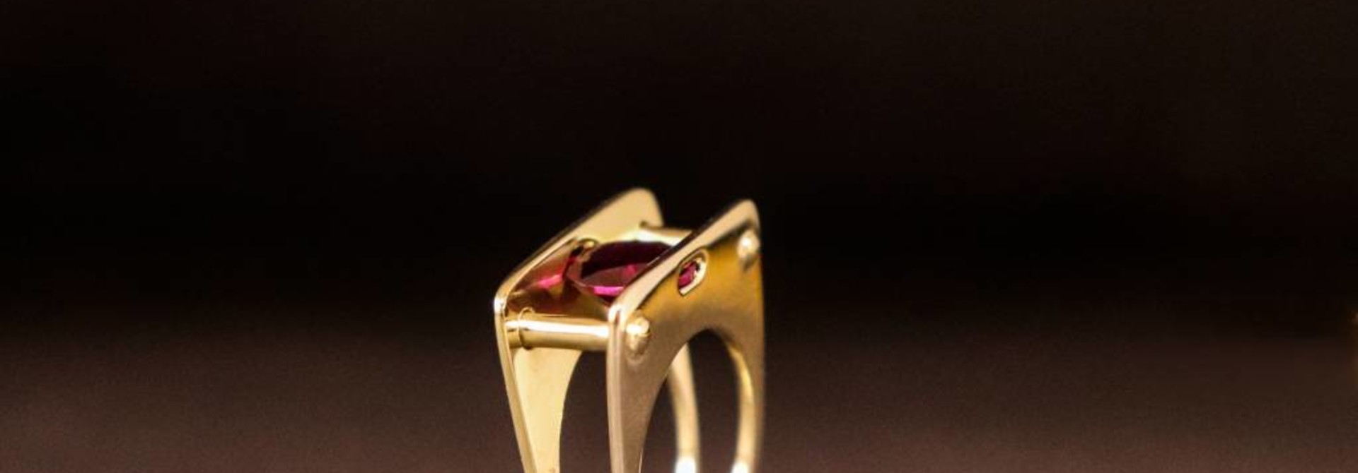 Ring STIJL-breed, goud