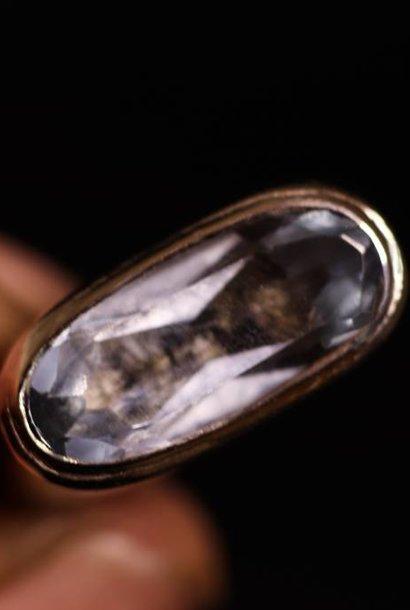(As)ring GEM, zilver met  Aquamarijn