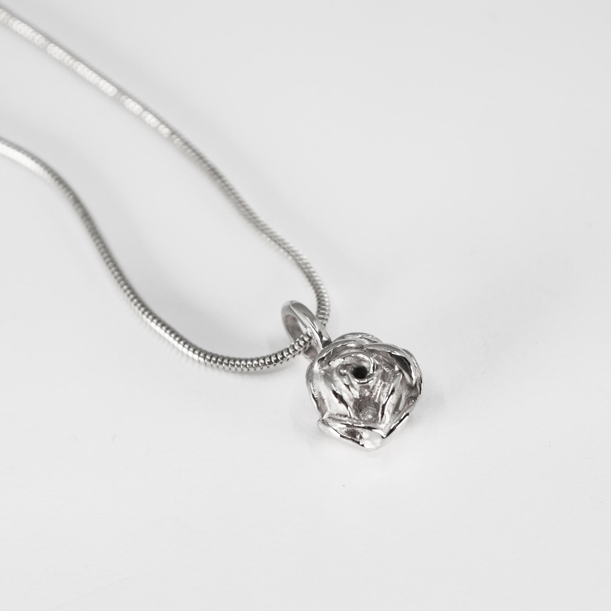 Hanger ROSE, zilver-2