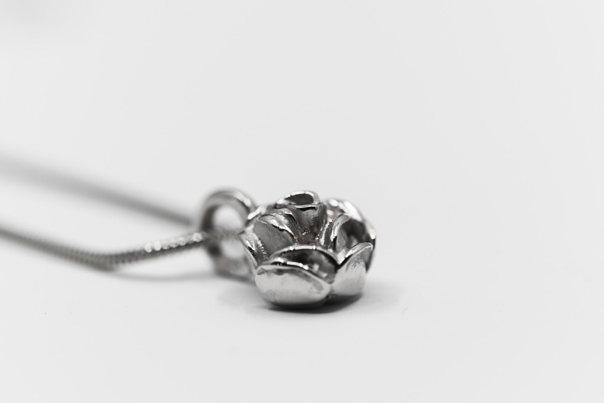 Hanger ROSE, zilver-3