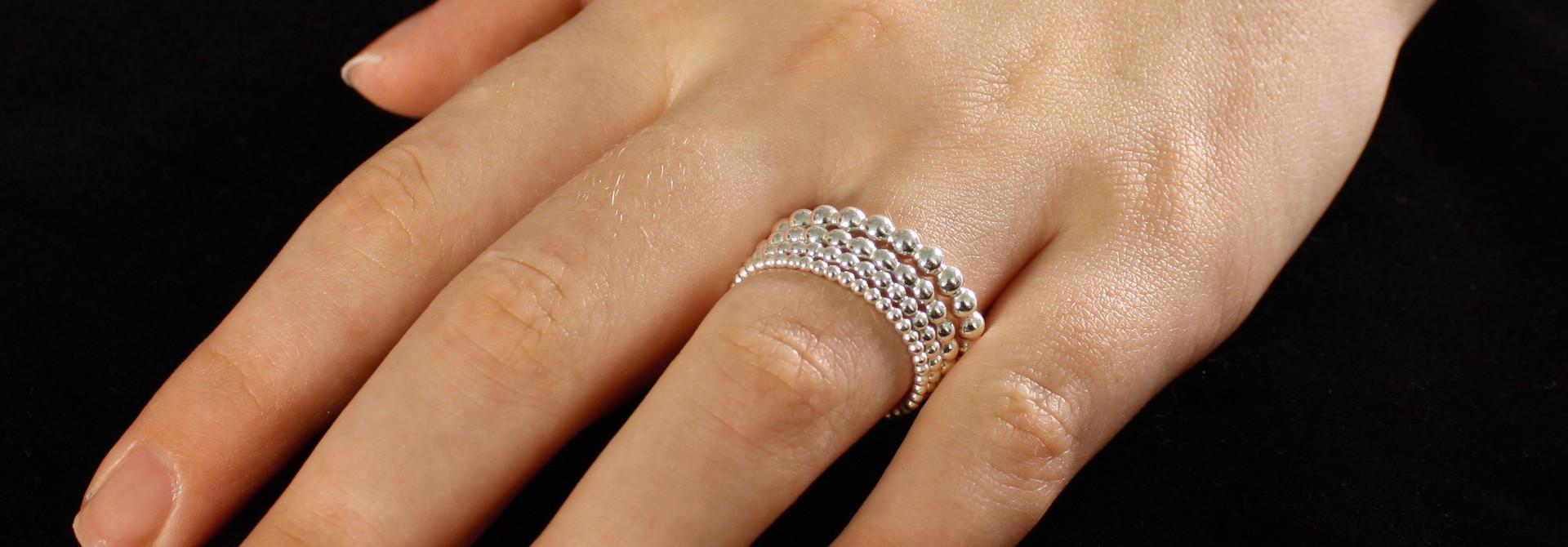 Ring MARGRIET, zilver