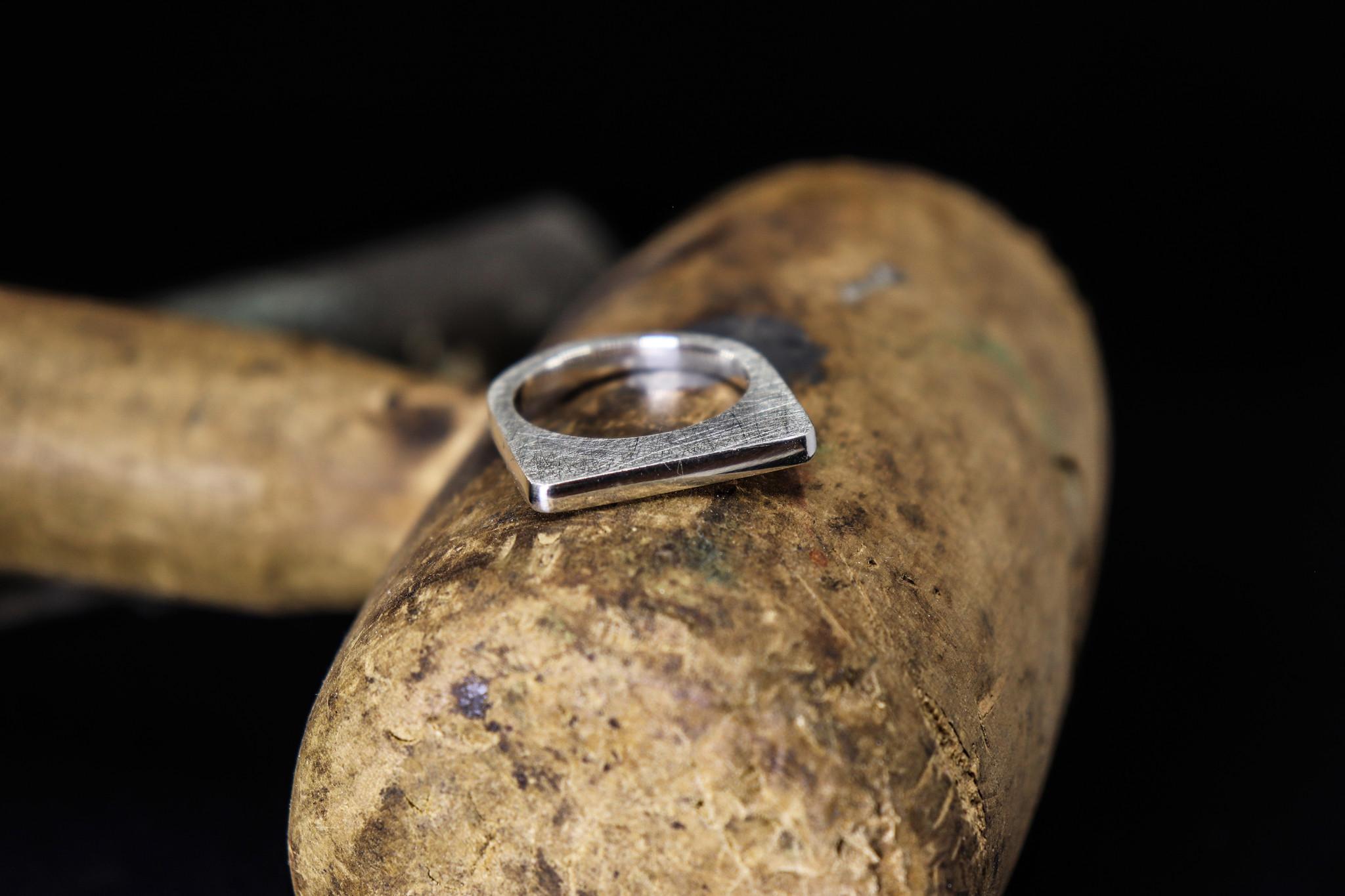 Ring SOBER, zilver-1