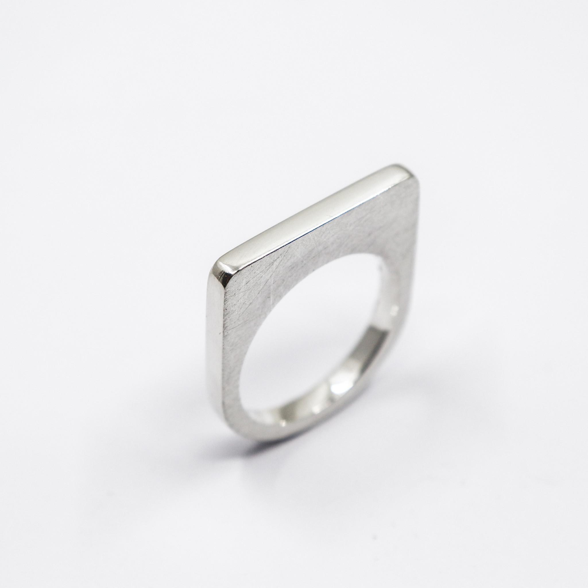 Ring SOBER, zilver-2