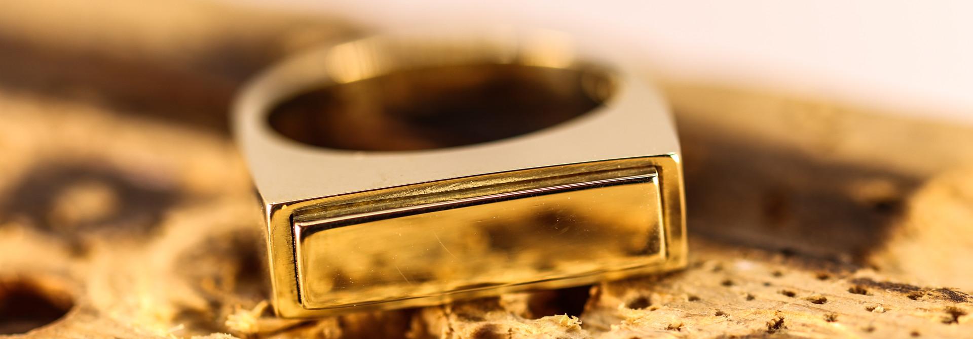 (As)ring QUARTRO, goud