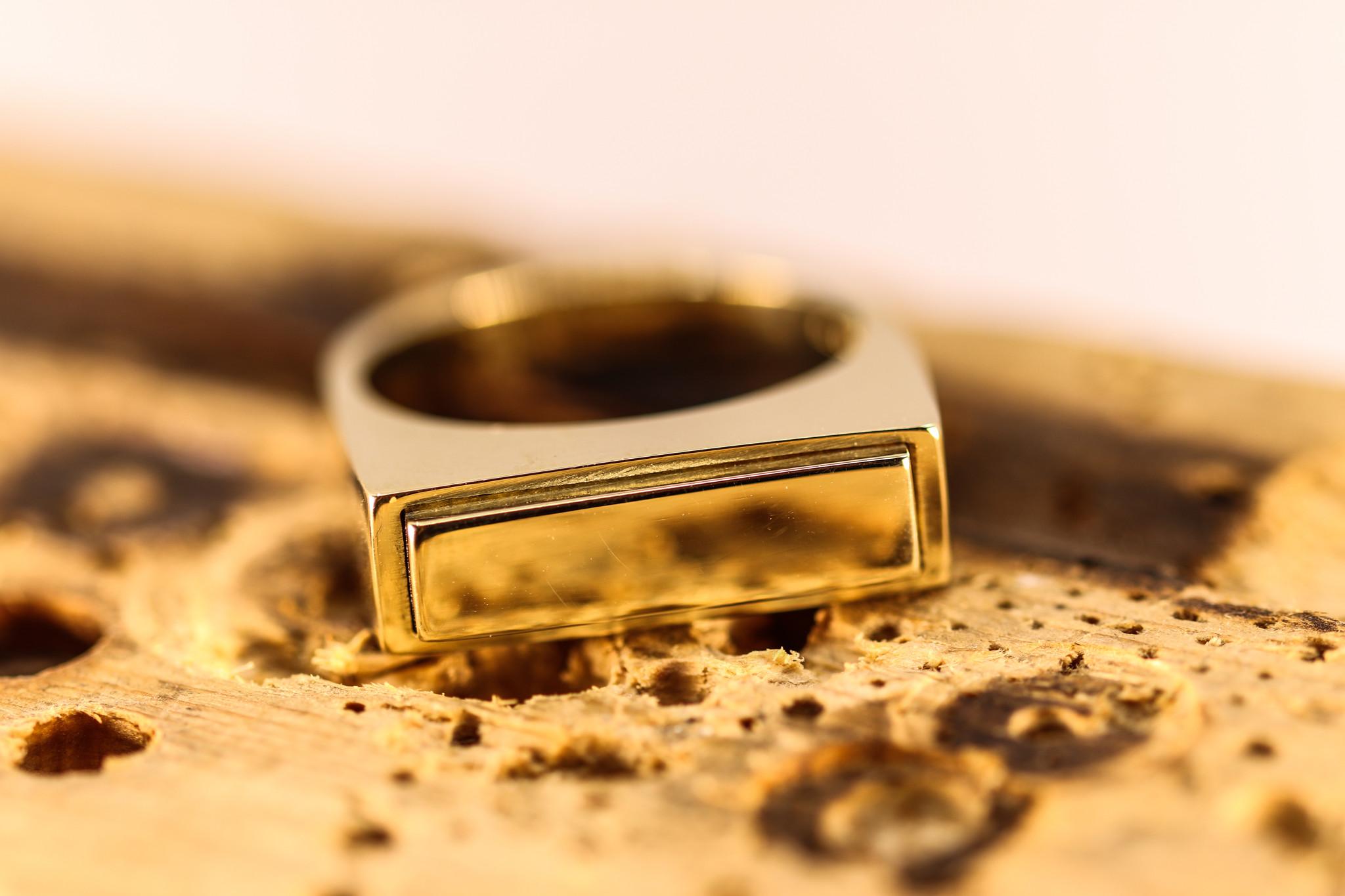 (As)ring QUARTRO, goud-1