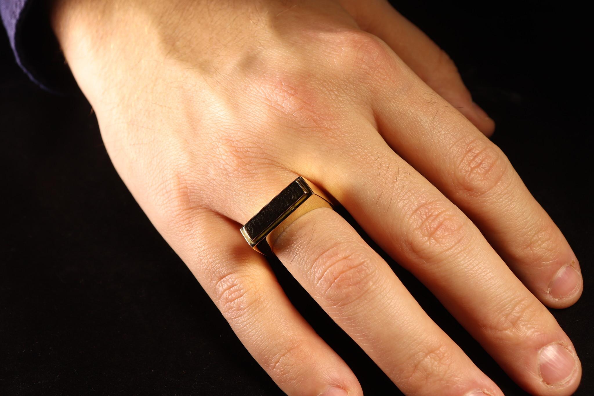(As)ring QUARTRO, goud-6