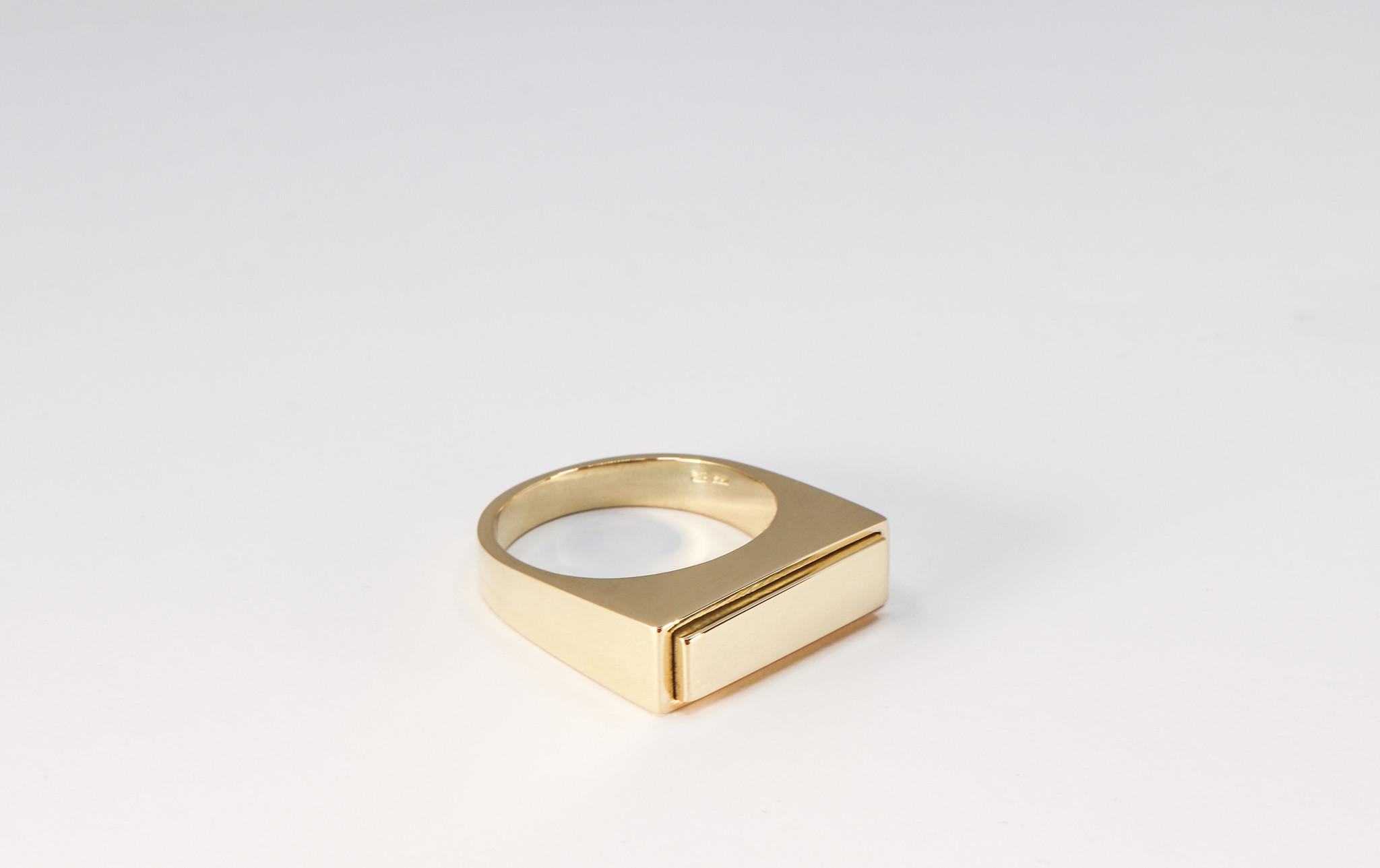 (As)ring QUARTRO, goud-7