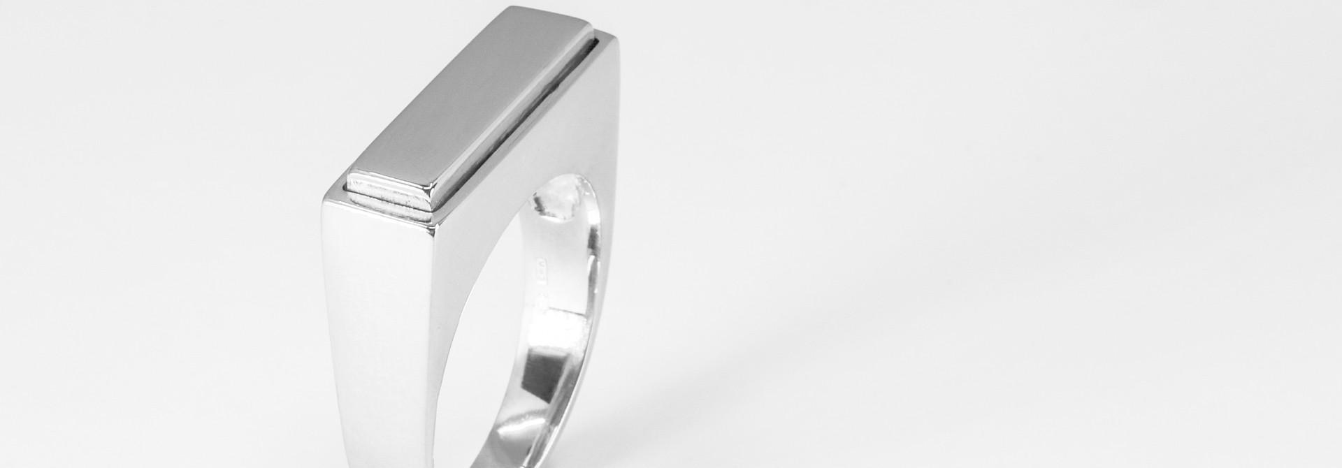 (As)ring QUARTRO, zilver
