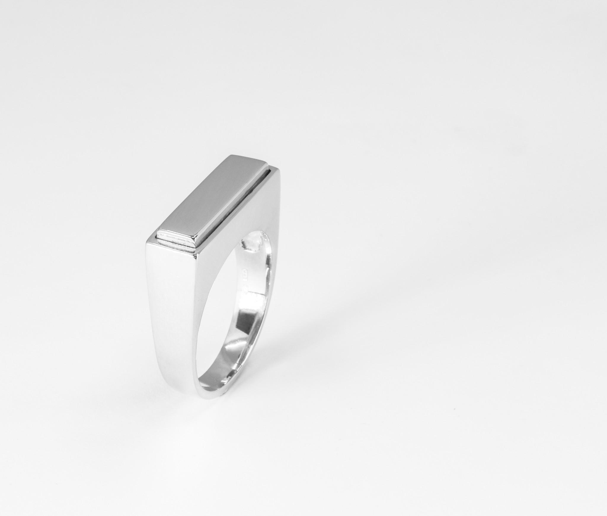 (As)ring QUARTRO, zilver-1